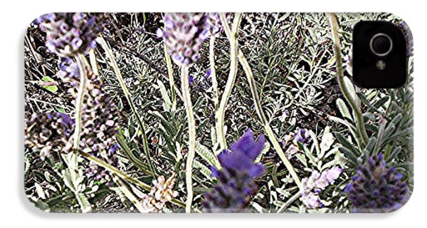 Lavender Moment IPhone 4 Case by Winsome Gunning