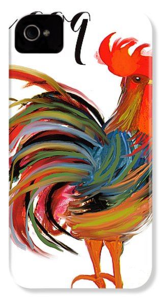 Le Coq Art Nouveau Rooster IPhone 4 Case
