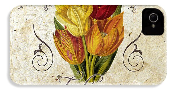 Le Jardin Tulipes IPhone 4 / 4s Case by Mindy Sommers