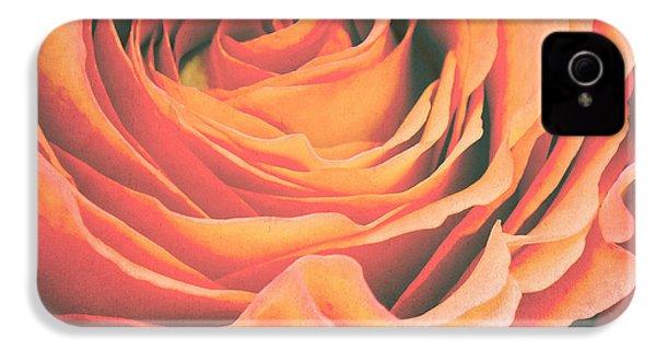 Le Petale De Rose IPhone 4 Case by Angela Doelling AD DESIGN Photo and PhotoArt