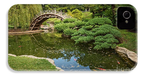 Lead The Way - The Beautiful Japanese Gardens At The Huntington Library With Koi Swimming. IPhone 4 Case