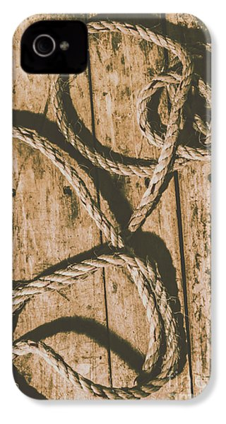 IPhone 4 Case featuring the photograph Learning The Ropes by Jorgo Photography - Wall Art Gallery