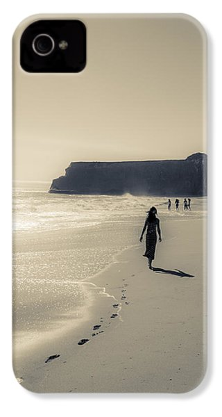 Leave Nothing But Footprints IPhone 4 Case by Alex Lapidus
