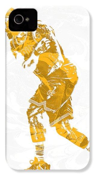 Lebron James Cleveland Cavaliers Pixel Art 13 IPhone 4 Case