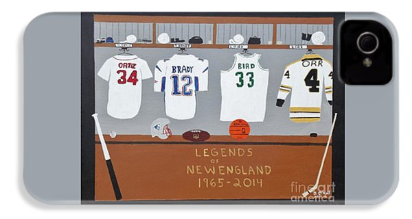 Legends Of New England IPhone 4 Case