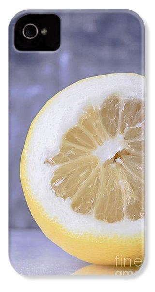 Lemon Half IPhone 4 Case by Edward Fielding