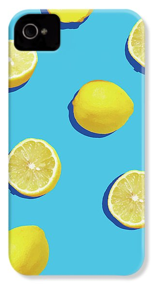 Lemon Pattern IPhone 4 Case