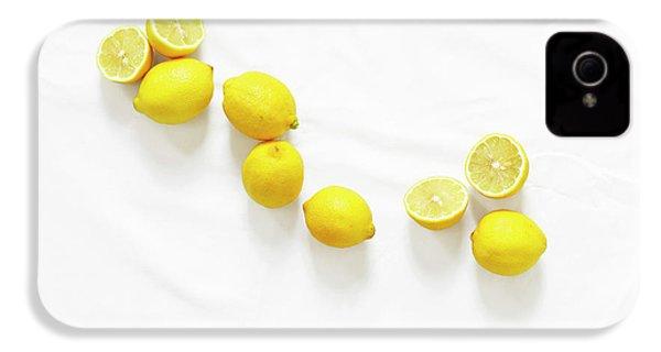 Lemons IPhone 4 Case by Lauren Mancke