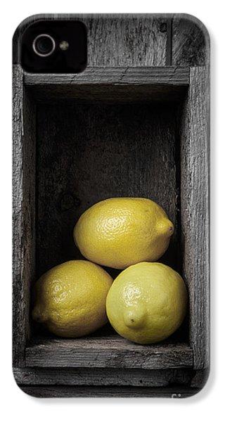 Lemons Still Life IPhone 4 Case