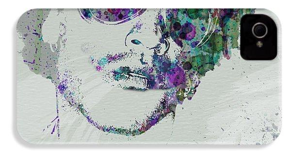 Lenny Kravitz IPhone 4 Case by Naxart Studio