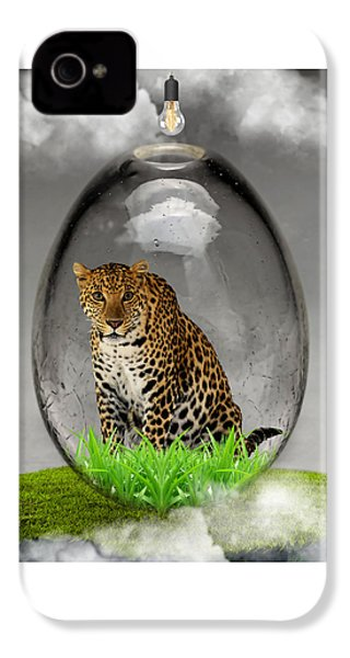 Leopard Art IPhone 4 Case