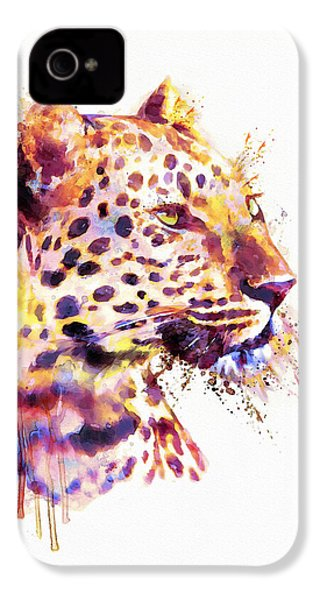 Leopard Head IPhone 4 Case