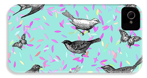 Let It Fly IPhone 4 Case by Gloria Sanchez
