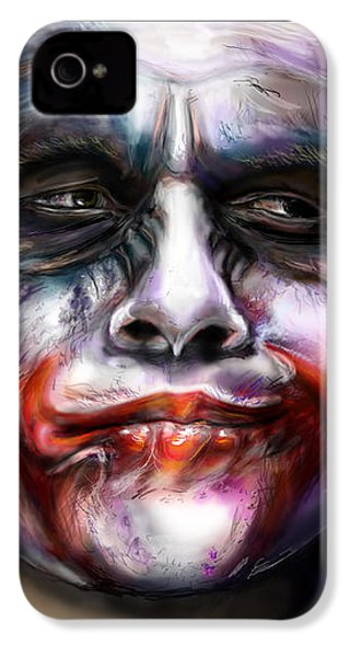 Let's Put A Smile On That Face IPhone 4 Case by Vinny John Usuriello