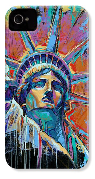 Liberty In Color IPhone 4 / 4s Case by Damon Gray