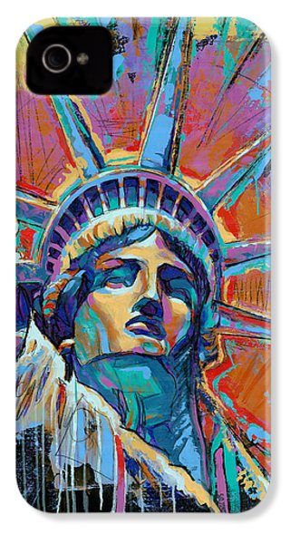 Liberty In Color IPhone 4 Case by Damon Gray