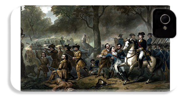 Life Of George Washington - The Soldier IPhone 4 Case by War Is Hell Store