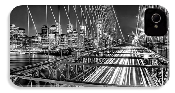 Light Trails Of Manhattan IPhone 4 Case