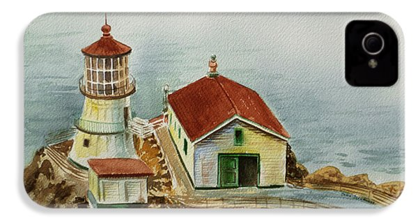 Lighthouse Point Reyes California IPhone 4 Case