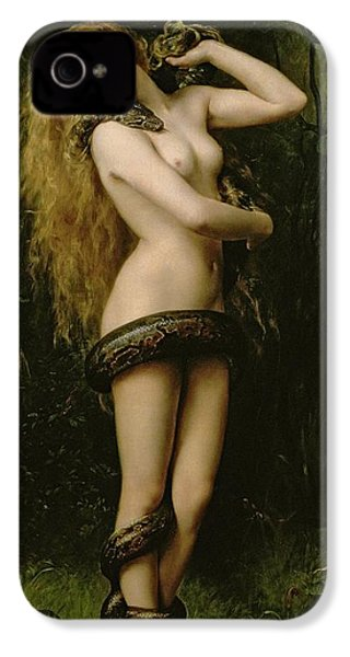 Lilith IPhone 4 Case by John Collier