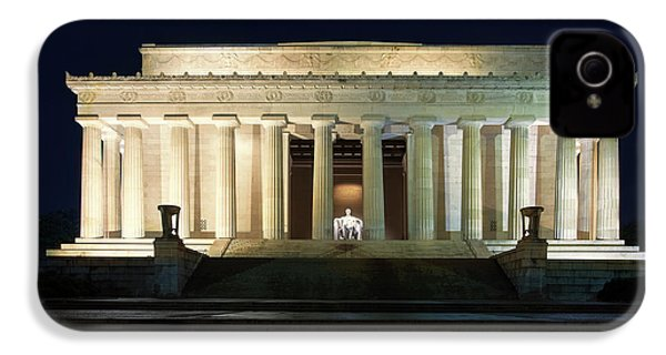 Lincoln Memorial At Twilight IPhone 4 Case