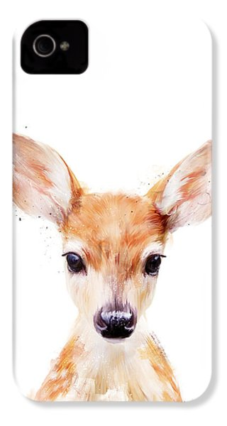 Little Deer IPhone 4 Case by Amy Hamilton