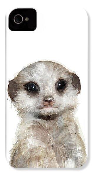 Little Meerkat IPhone 4 Case by Amy Hamilton