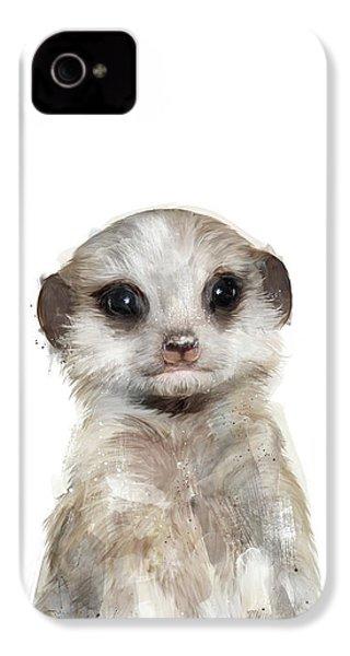 Little Meerkat IPhone 4 / 4s Case by Amy Hamilton