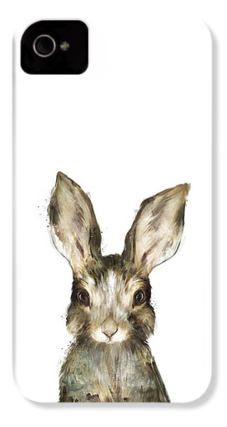 Little Rabbit IPhone 4 Case by Amy Hamilton