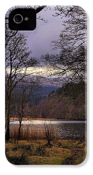 IPhone 4 Case featuring the photograph Loch Venachar by Jeremy Lavender Photography