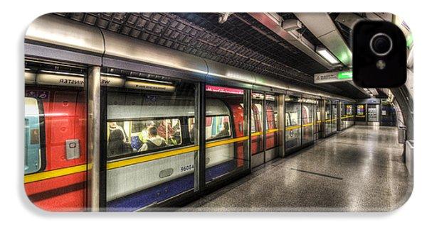 London Underground IPhone 4 Case by David Pyatt
