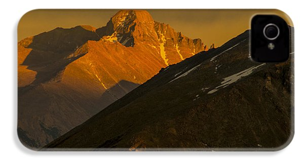 IPhone 4 Case featuring the photograph Long's Peak by Gary Lengyel