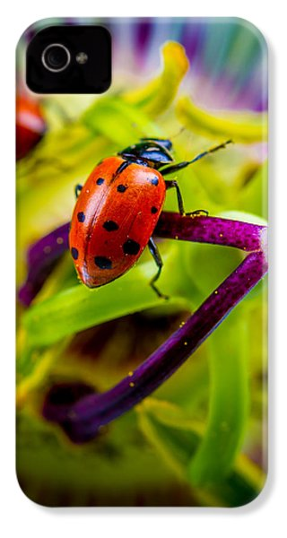 Look At The Colors Over There. IPhone 4 Case by TC Morgan