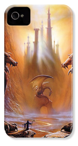 Lost Valley IPhone 4 Case by The Dragon Chronicles - Garry Wa