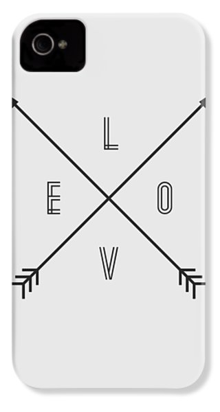 Love Compass IPhone 4 / 4s Case by Taylan Apukovska