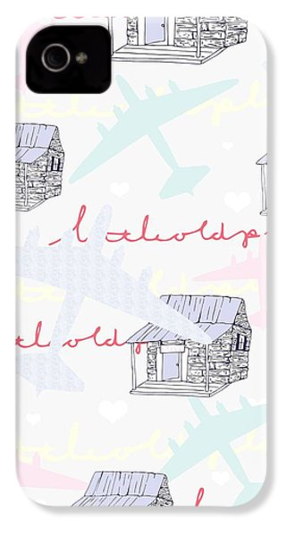 Love Shack IPhone 4 / 4s Case by Beth Travers
