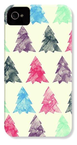 Lovely Pattern II IPhone 4 Case by Amir Faysal