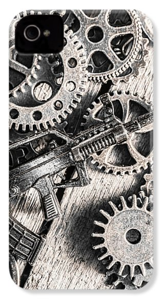 Machines Of Military Precision  IPhone 4 Case by Jorgo Photography - Wall Art Gallery