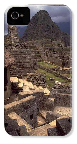 IPhone 4 / 4s Case featuring the photograph Machu Picchu by Travel Pics