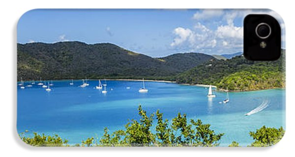 IPhone 4 Case featuring the photograph Maho And Francis Bays On St. John, Usvi by Adam Romanowicz