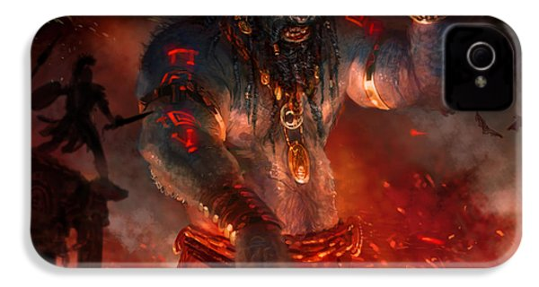 Maker Of The World IPhone 4 Case by Ryan Barger