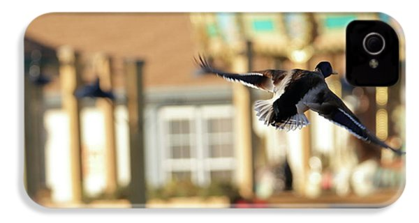 Mallard Duck And Carousel IPhone 4 Case by Geraldine Scull
