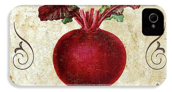 Mangia Radish IPhone 4 Case by Mindy Sommers