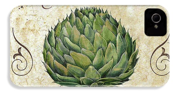 Mangia Artichoke IPhone 4 / 4s Case by Mindy Sommers