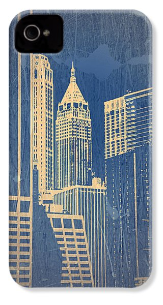 Manhattan 1 IPhone 4 / 4s Case by Naxart Studio