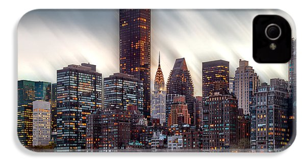 Manhattan Daze IPhone 4 Case by Az Jackson