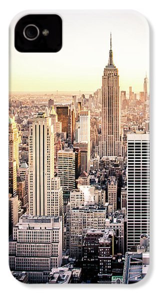 Manhattan IPhone 4 Case by Michael Weber