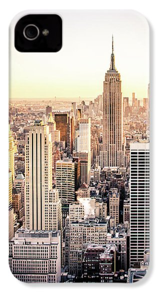 Manhattan IPhone 4 Case by Michael Weber