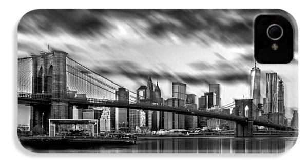 Manhattan Moods IPhone 4 Case by Az Jackson