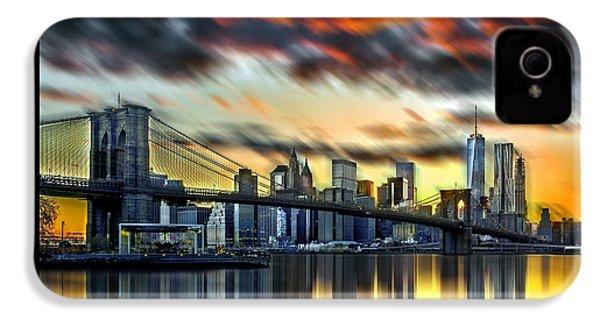 Manhattan Passion IPhone 4 Case by Az Jackson